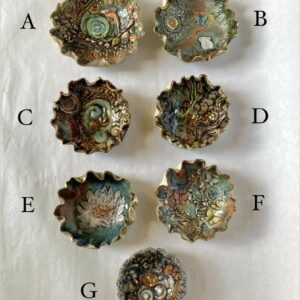 Pottery Wishing Bowls by Linda de Beeld