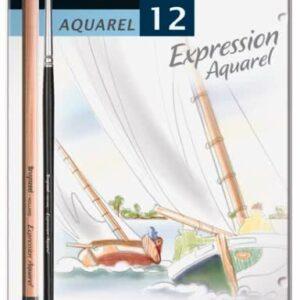 Bruynzeel Expression Set of 12 Aquarel Watercolour Pencils