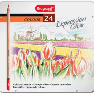Bruynzeel Expression Colour Set of 24 Coloured Pencils