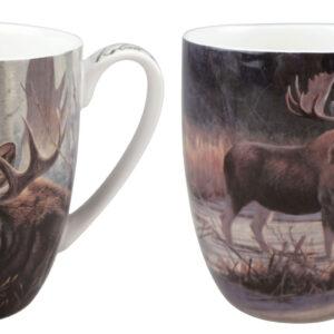 Robert Bateman Moose Mug Pair