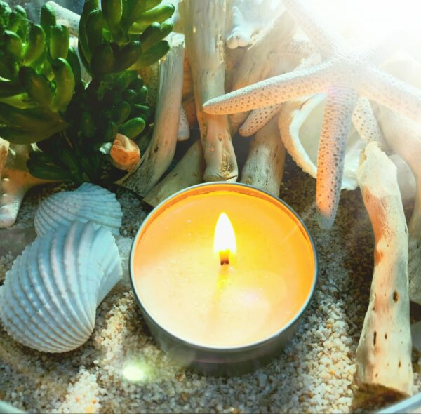 Beachcomber Organic Soy Candle – 4oz