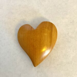 Hand-Carved Wooden Hearts by Kees Luchs