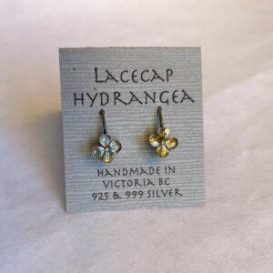Sterling Silver Lacecap Hydrangea Earrings By Susan Ellenton