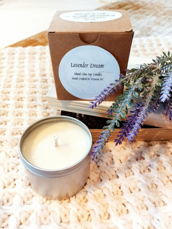 Lavender Dream Organic Soy Candle – 4oz