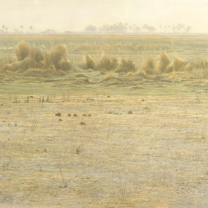 Peaceable Kingdom - Lechwe and Lioness - Signed Limited Edition Print by Robert Bateman