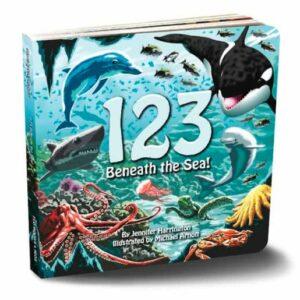 123 Beneath the Sea by Jennifer Harrington - Hardcover