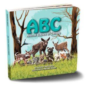 ABC: Animal Babies of Canada by Jennifer Harrington - Hardcover