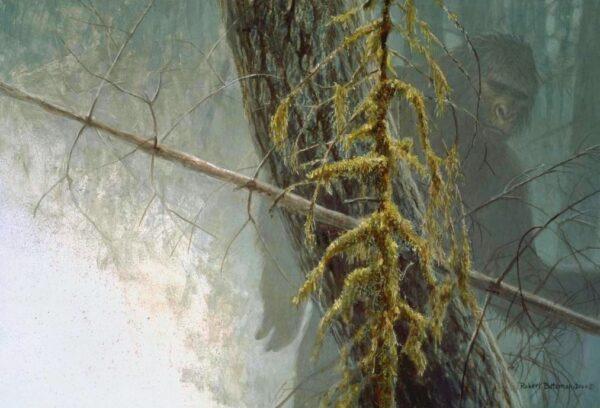 Sasquatch - Signed Limited Edition Print by Robert Bateman