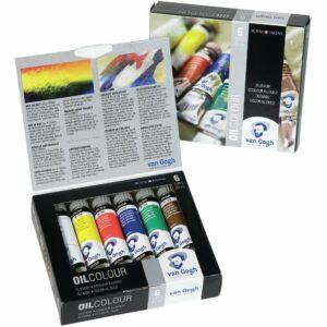 Van Gogh Set of 6 Oil Colour Paints