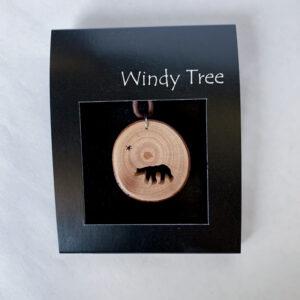 Bear Arbutus Pendant Necklace by Ro Walton - Windy Tree