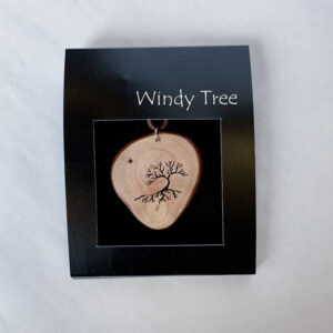 Wind Swept Arbutus Pendant Necklace by Ro Walton - Windy Tree