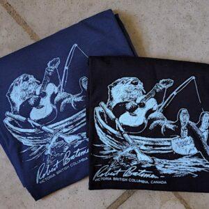 Robert Bateman Fulford Day Otter Cotton T-Shirt