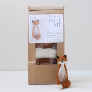 Foxy Needle Felting Kit