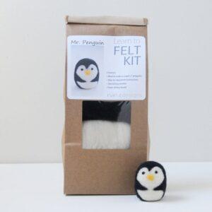 Mr Penguin Needle Felting Kit