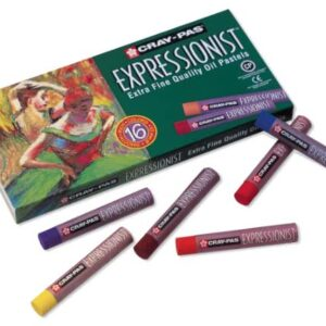 Cray-Pas Expressionist Extra Fine Quality Set of 16 Oil Pastels