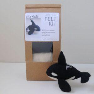 Orca Whale Needle Felting Kit