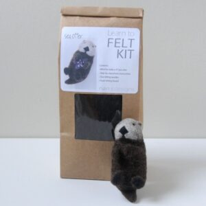 Sea Otter Needle Felting Kit