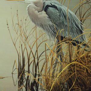 Great Blue Heron Robert Bateman Puzzle - 500 Piece