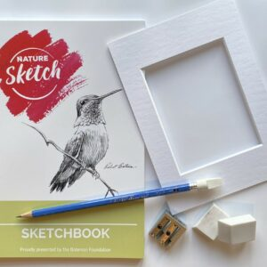 Nature Sketch Kit - Sketchbook and Supplies