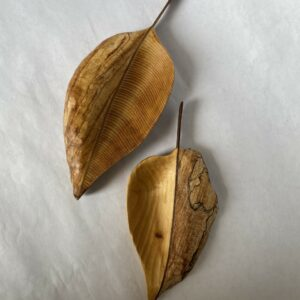 Hand Carved oneTree Leaves by Arnim Rodeck