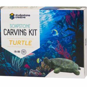 Soapstone Carving Kit - Turtle