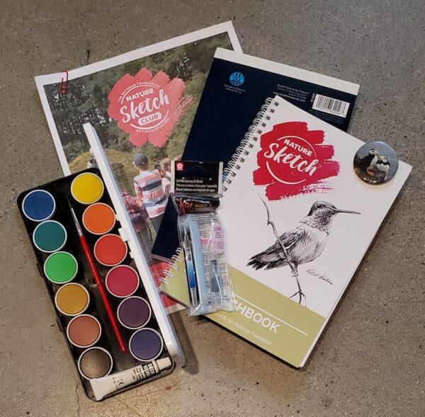 Bateman Foundation Nature Sketch Activity Art Box