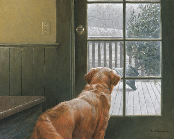 Observing Christmas - Signed Limited Edition Print by Robert Bateman